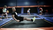 Trampolinetrening: Mage - Puls er i Hollywood for å finne nye treningstrender.