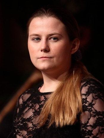 """AUSTRIA/ Austrian kidnap victim Kampusch poses before receiving the Buchliebling award for her book """"3,096 Days"""" during a ceremony in Vienna"""