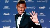 SOCCER-BRAZIL/NEYMAR File photo of Brazilian soccer player Neymar arriving for the 2013 Laureus World Sports Awards in Rio de Janeiro