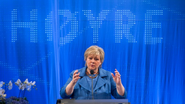 Erna Solberg (Foto: Bendiksby, Terje/NTB scanpix)