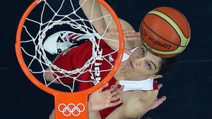 OL i London - basketball: Australia-Russland, menn 06.08.2012