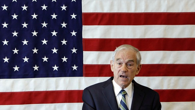 Ron Paul (Foto: Charlie Neibergall/Ap)