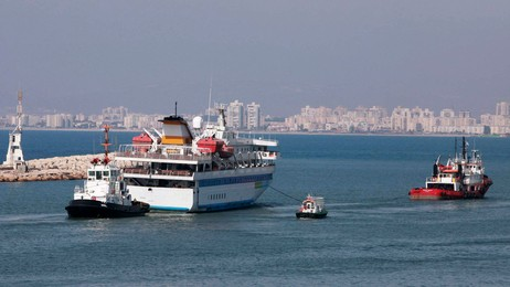 Mavi Marmara (Foto: MAARIV/Reuters)