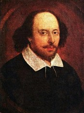 William Shakespeare (Wikipedia Commons)