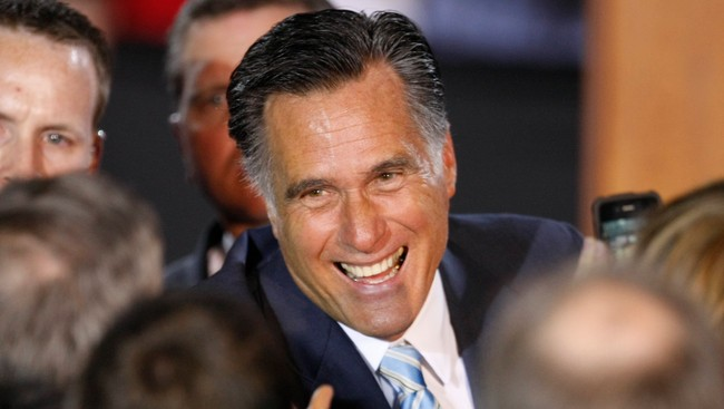 Mitt Romney (Foto: DOMINICK REUTER/Reuters)