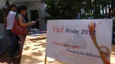 VIETNAM-POLITICS-RIGHTS-GAY (Foto: Hoang Dinh Ham/Afp/NTB Scanpix)