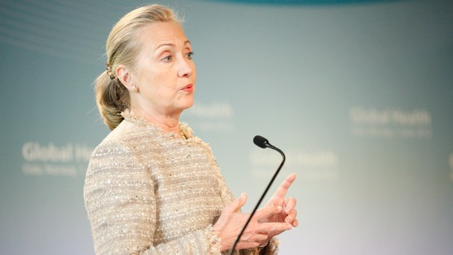 Hillary Clinton  (Foto: Karlsen, Anette/NTB scanpix)