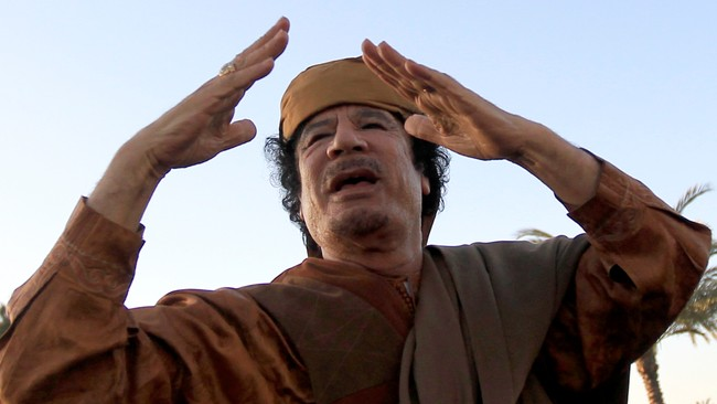 Muammar Gaddafi (Foto: ZOHRA BENSEMRA/Reuters)