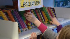 Skolebibliotek (Foto: Mohammed Alayoubi/NRK)