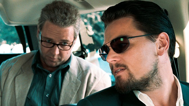 Russell Crowe og Leonardo DiCaprio i 'Body of Lies'. (Foto: Photo Courtesy of Warner Bros. Pictures/COURTESY OF WARNER BROS. ENTERTAINMENT, INC.)