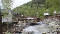 Flom i Gudbrandsdalen (Foto: Olsen, Geir/NTB scanpix)