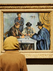 CEZANNE-CARD PLAYERS (Foto: STAN HONDA/Afp)