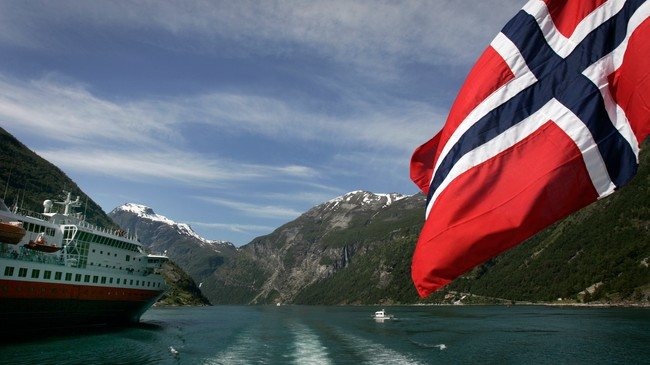 Det norske flagget (Foto: Kallestad, Gorm/SCANPIX)