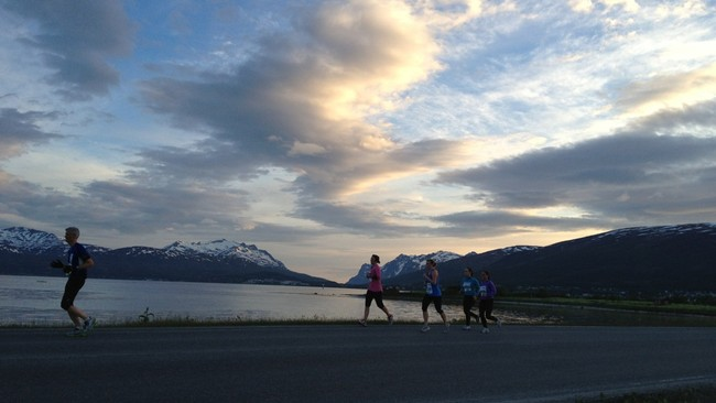 Midnight Sun Marathon (Foto: Pl Hansen/NRK)