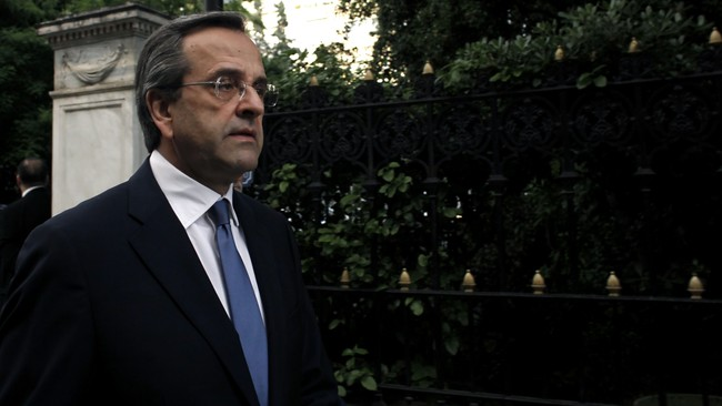 Antonis Samaras (Foto: ANGELOS TZORTZINIS/Afp)