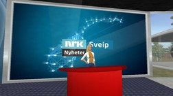 Sveip studio i Second Life (NRK)