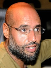 Saif al-Islam (Foto: Paul Hackett/Reuters)