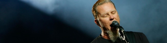 James Hetfield og Metallica (Foto: Larsen, Håkon Mosvold/SCANPIX)