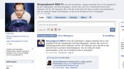 Norgesglasset p Facebook (NRK)