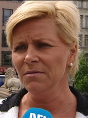 Siv Jensen (Foto: Per Onsheim/NRK)