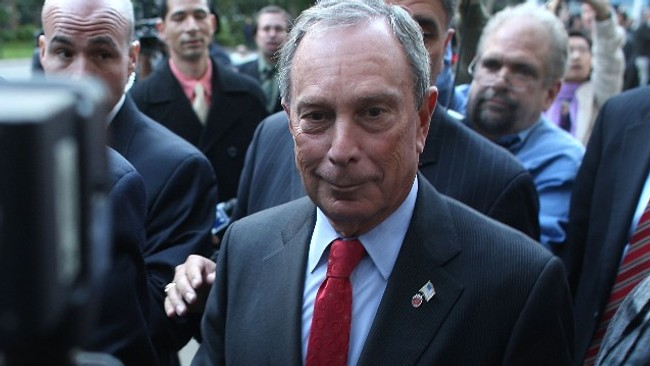 New York-ordfrer Michael Bloomberg (Scanpix/AFP)