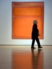Mark Rothkos &#39;Orange, red, yellow&#39; (Foto: STAN HONDA/Afp)