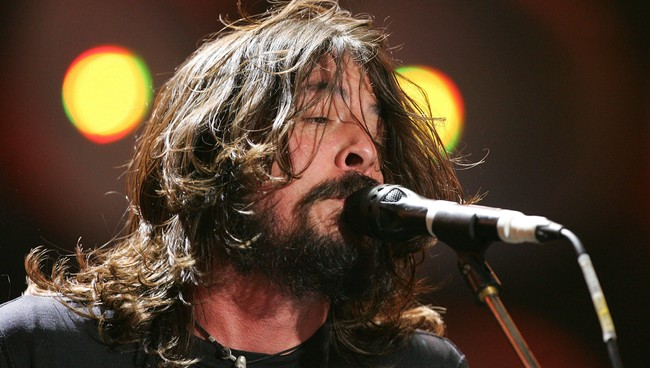 Dave Grohl -Foo Fighters (Foto: CARL DE SOUZA/AFP)