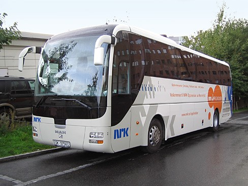 Buss fra NRK Opplevelser