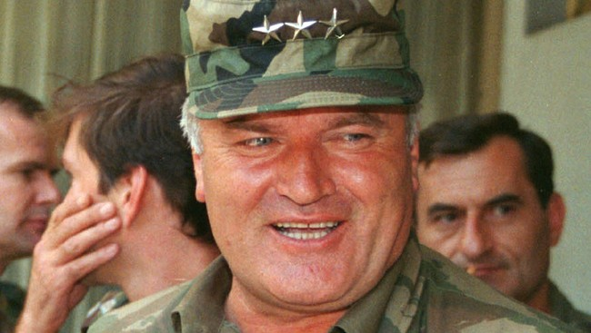 Ratko Mladic (Foto: RANKO CUKOVIC/SCANPIX)
