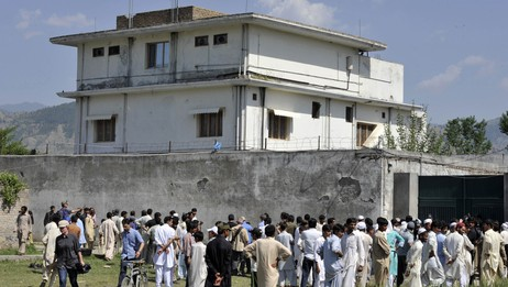 Villaen der bin Laden skjulte seg i Abbottabad (Foto: AAMIR QURESHI/Afp)