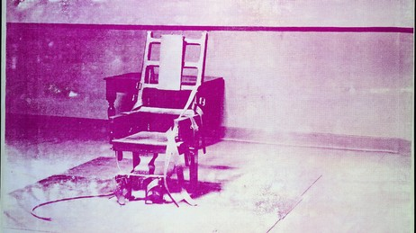 Big Electric Chair, Andy Warhol