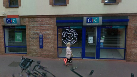 CIC bank i Toulouse (Google Street View)