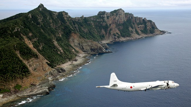 Japan China Disputed Islands (Ap/NTB Scanpix)