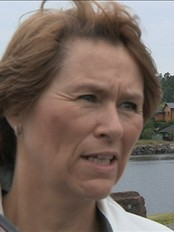 Justisminister Grete Faremo. (NRK)