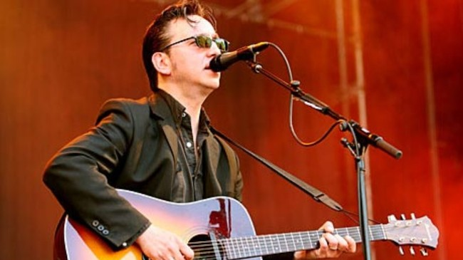 Richard Hawley p Norwegian Wood (Foto: Arne Kristian Gansmo/NRK)