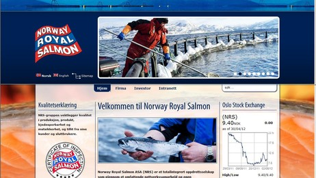 Norway Royal Salmon ASA (Foto: Dan Robert Larsen/Skjermdump)
