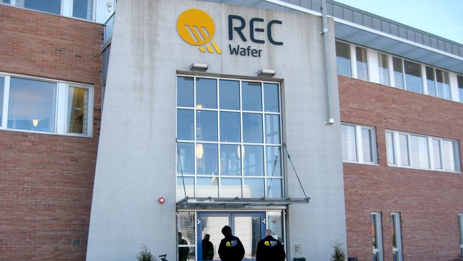 REC Wafer (Foto: Tom Andersen/NRK)