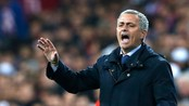 SOCCER-SPAIN/CUP Real Madrid coach Jose Mourinho shouts to his players during their Spanish King's Cup final soccer match against Atletico de Madrid at Santiago Bernabeu stadium in Madrid