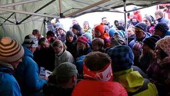 High Camp - enorm interesse for dei guida turane