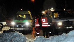 Ambulanser redningsaksjon Karihola (NRK)