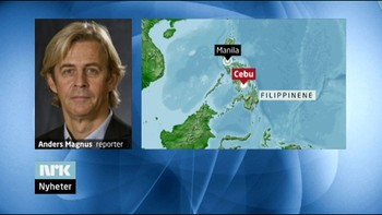 Video Anders Magnus rapporterer fra Cebu, Filippinene morgen 15.02.2011