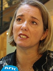 Judith van der Weele (NRK)