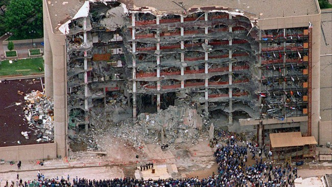 Timothy mcveigh terrorist attack