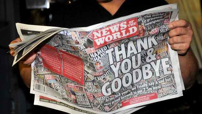 News Of The World (Foto: IAN NICHOLSON/Afp)