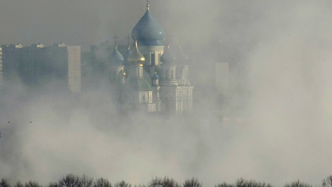 Vinterkulde i Moskva (Foto: Mikhail Metzel/Ap)