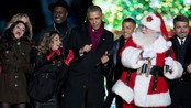 Nico og Vinz synger og danser for Obama - Nico og Vinz danset for Obama da julegrana ble tent i Washington DC.