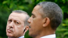 Erdogan og Obama (Foto: KEVIN LAMARQUE/Reuters)
