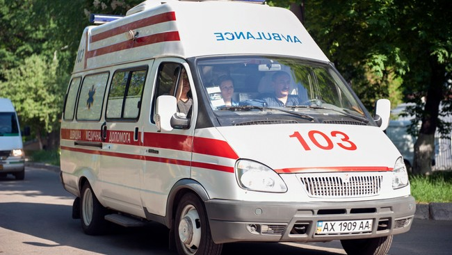 Ambulanse i Ukraina (Foto: STRINGER/Reuters)