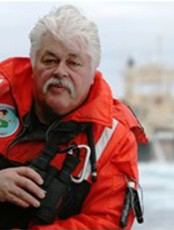 Paul Watson i Sea Sheperd (Foto: Sea Shepherd Conservation Society/AP)