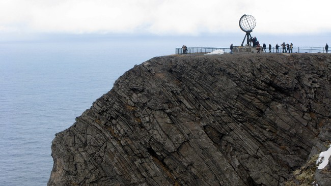 Nordkapp klippen (Foto: Atle Markeng/NRK)